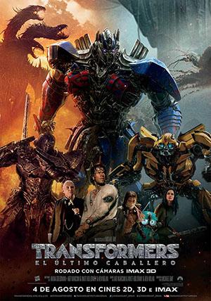Transformers El ultimo Caballero Carteleras de cine
