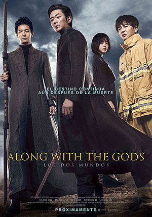 Los dos Mundos Along With the Gods Pelicula en Carteleras de Cine