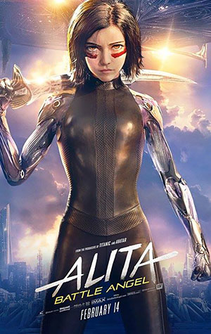 Battle Angel La Ultima Guerrera pelicula en Carteleras de Cine