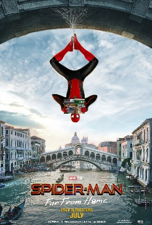 SpiderMan lejos de casa far from home carteleras de cine - Edited