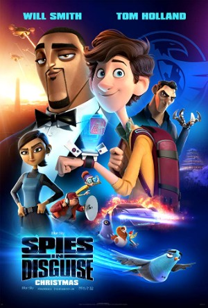 Espías a Escondidas - spies in disguise 2019 carteleras de cine